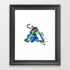 A art Framed Art Print