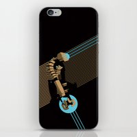 engineer iPhone & iPod Skins featuring The Engineer by Florey