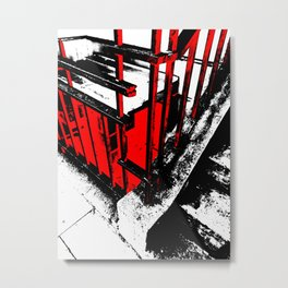 Radiation Metal Print