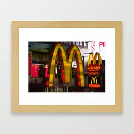 Mickey D's Framed Art Print