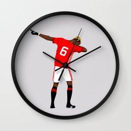 POGBA Style Wall Clock