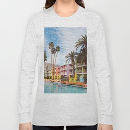 Palm Springs Pool Day VII Long Sleeve T-shirt