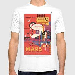 Mars Tour : Space Galaxy T-shirt