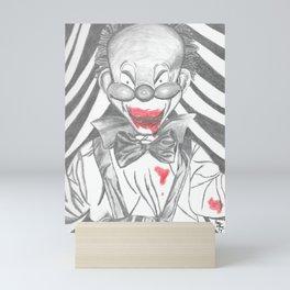 Clown Doll Mini Art Print