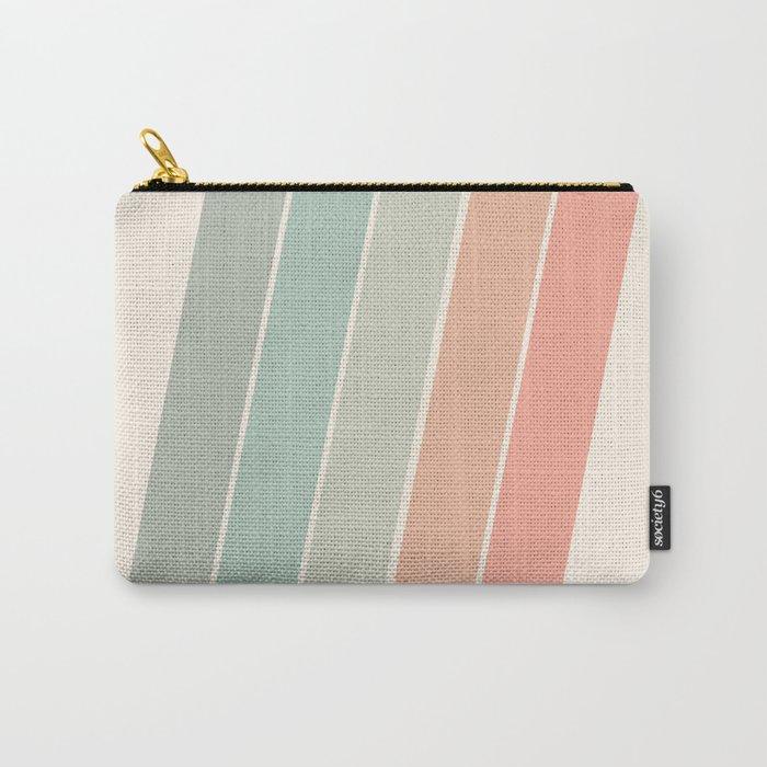 Trippin' - retro 70s socal minimal striped abstract art california surfing vintage Tasche