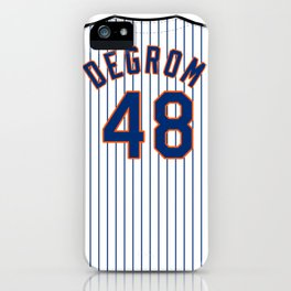 Jacob deGrom Jersey iPhone Case