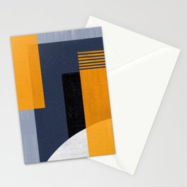 Abstract Geometric Space 1 Stationery Cards