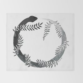 Ouroboros Throw Blanket