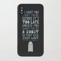 motivational iPhone & iPod Cases featuring Motivational Speaker by Teo Zirinis