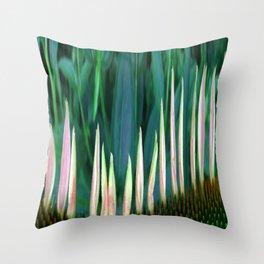 410 - Abstract Flower Design Throw Pillow