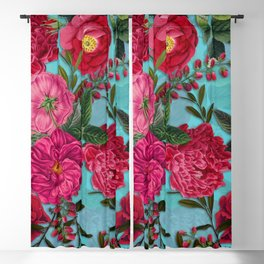 Vintage & Shabby Chic - Summer Tropical Garden I Blackout Curtain