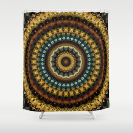 Mandala 217 Shower Curtain