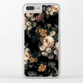 Midnight Garden XIV Clear iPhone Case