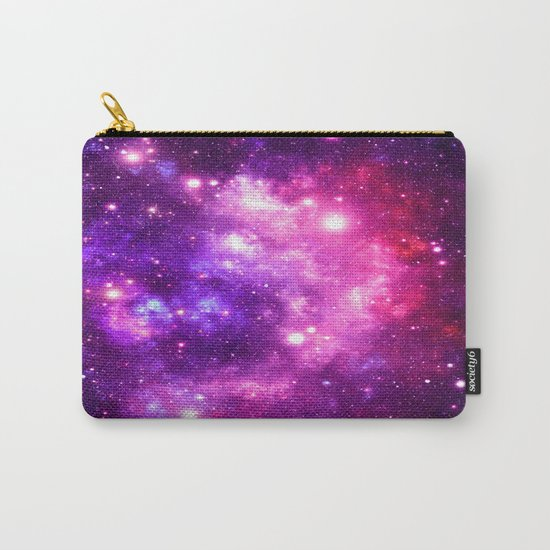 Purple Pink Galaxy Nebula Carry-All Pouch