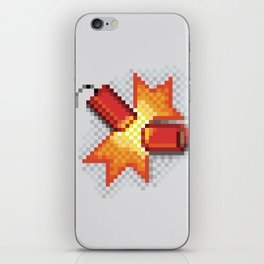 Pixel Boom iPhone Skin