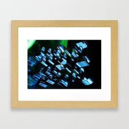Abstraction in Darkness  Framed Art Print