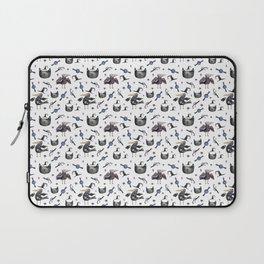 Cats and ravens Laptop Sleeve