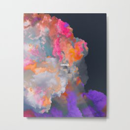 Orage (Colorful clouds in the sky III) Metal Print