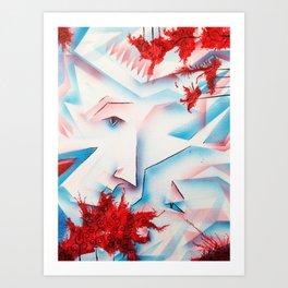"""""""Whispers"""" Art Print"""