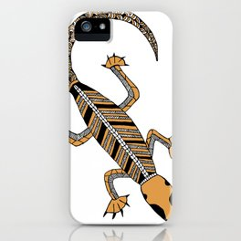 Goanna #4 iPhone Case