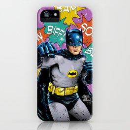 SAME BAT-TIME iPhone Case