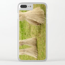 Feathered Feet Clear iPhone Case
