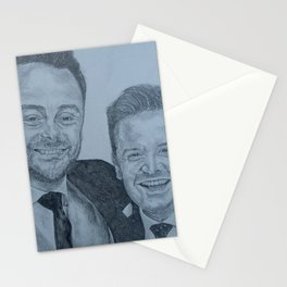 Ant and Dec Pencil Stationery Cards