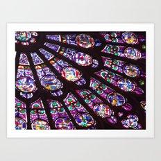 Rose Window (Notre Dame)  Art Print