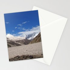Snow in the Lahaul Valley Stationery Cards