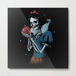 Snow white Metal Print
