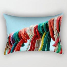 Thread of Life? Rectangular Pillow