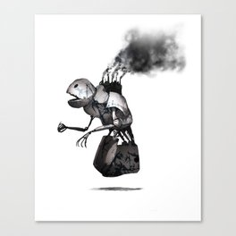 Robot One Canvas Print