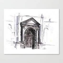 Venetian Door Canvas Print