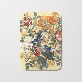 Floral and Birds XXIX Badematte