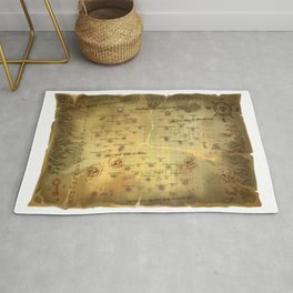 Sea of Thieves Map Rug