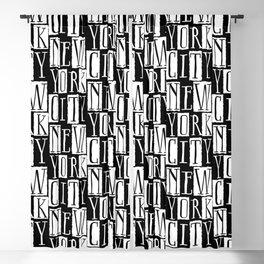 In a New York City Frame of Mind Blackout Curtain