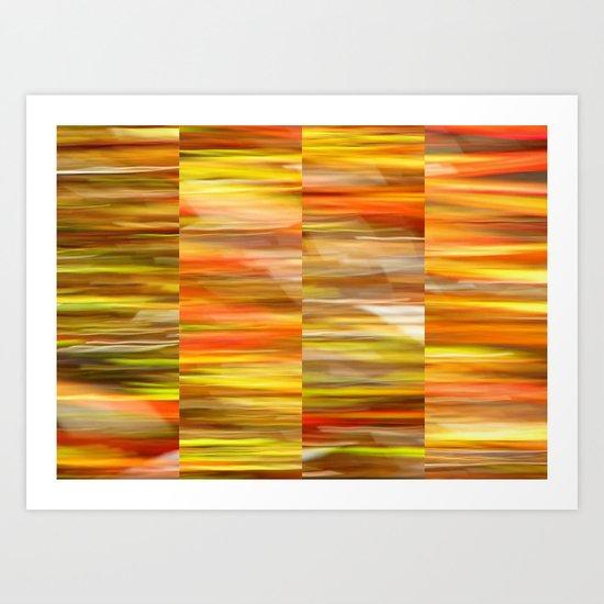 Saffron - Polyptych Art Print