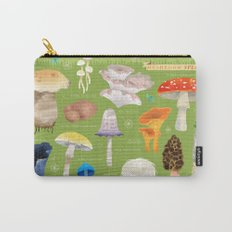 Mushroom Species Carry-All Pouch