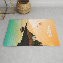 National Parks Poster: Acadia Rug