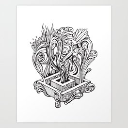 Growing Imagination Art Print