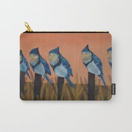 Blue Birds and Barley  Carry-All Pouch