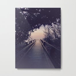 I'd hoped, I'd dreamed, Come back to me Metal Print