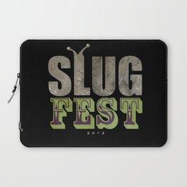Slug Fest - slacker tee Laptop Sleeve