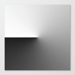 B&W 001 Canvas Print