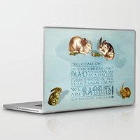 rabbits Laptop & iPad Skins featuring Freaking Rabbits by Diogo Verissimo