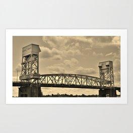 Memorial Bridge Art Print