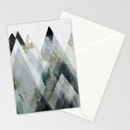 Mountain Abstract II Stationery Cards
