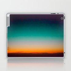 Blue and Yellow Magic Dawn in the Sky Laptop & iPad Skin