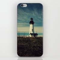 lighthouse iPhone & iPod Skins featuring Lighthouse by Yellowstone Photo Studio