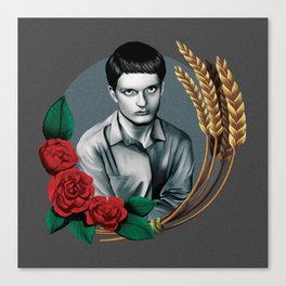 Joy Division - Ian Curtis Canvas Print